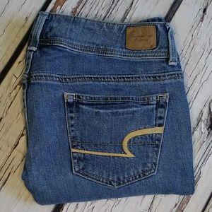 American Eagle Stretch Slim Boot Jeans Sz 6